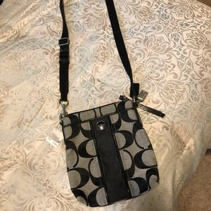 Coach crossbody bag with tag
